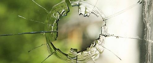 Glasschade aan ruit